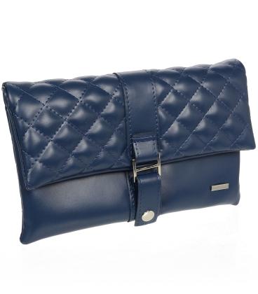 Modrá listová kabelka S18SM020BLU- Grosso