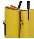 Žlutá elegantní kabelka V18SM085YEL- GROSSO