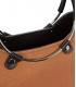 Hnedá elegantná vystužená kabelka V18SM094BRW- GROSSO