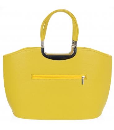 Žltá elegantná kabelka V18SM084YEL - GROSSO