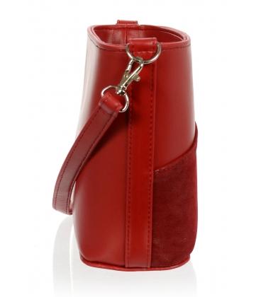 Červená crossbody kabelka C18SM062RED - GROSSO