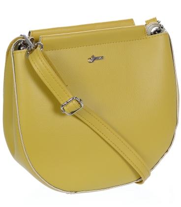 Žlutá crossbody kabelka C18SM067YEL - Grossoo
