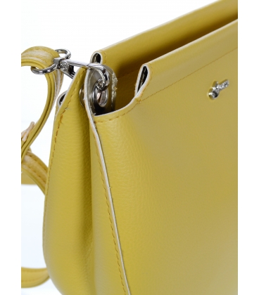 Žltá crossbody kabelka C18SM067YEL  - Grosso