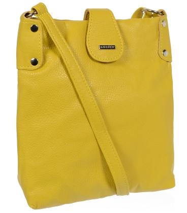 Žlutá crossbody kabelka C18SM001YEL - GROSSO