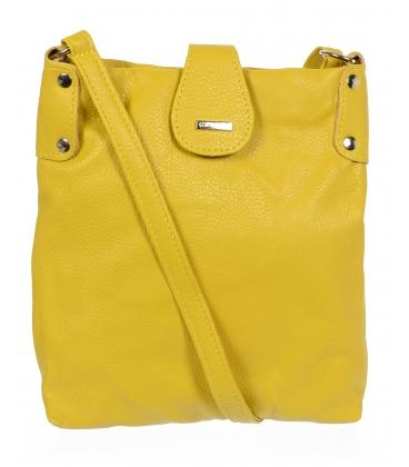Žltá crossbody kabelka C18SM001YEL - GROSSO