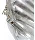 Stříbrná crossbody kabelka C18SM064SLV - Grosso