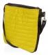 Žlto-hnedá crossbody taška s prešívaním M188 - Grosso