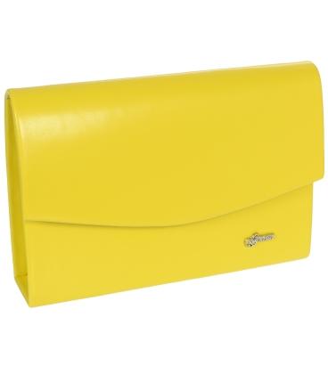 Žlutá společenská kabelka 19SP001- Grosso