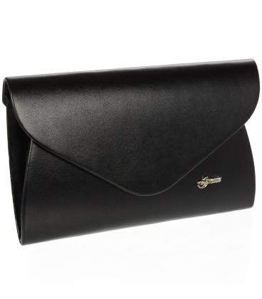 Čierna matná listová kabelka S18SM004BLC - GROSSO