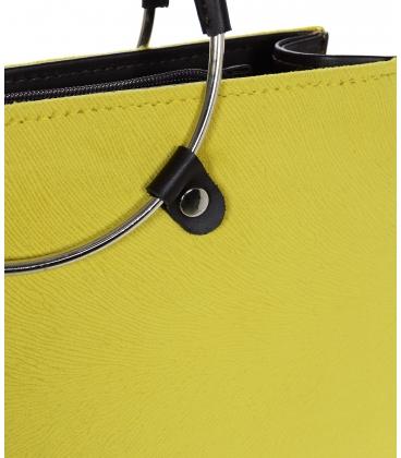 Žltá elegantná kabelka  V18SM083YEL - GROSSO