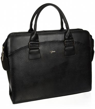 Černá matná taška na notebook A18SM065BLC - GROSSO