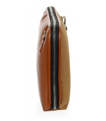 Hnedá crossbody kabelka 19C013- Grosso