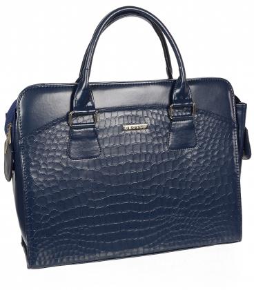"""Modrá elegantní taška na """"15,6"""" notebook ST01 - Grosso"""