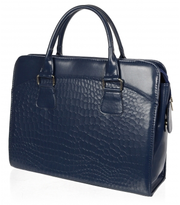 """Modrá elegantná taška na """"15,6"""" notebook ST01 - Grosso"""
