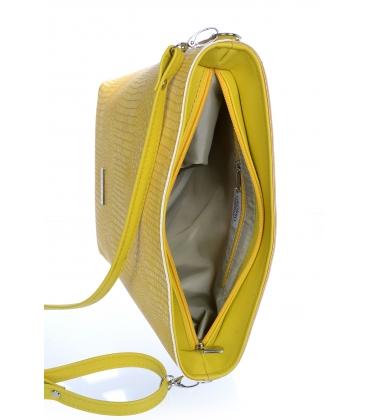 Sárga nagyobb oldaltáska C18SM067YEL- Grosso