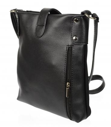 Čierna matná crossbody kabelka C18SM011