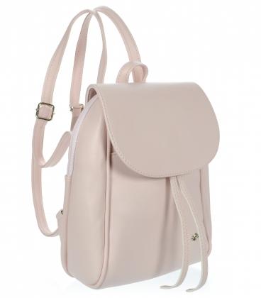Béžový praktický ruksak 20B001