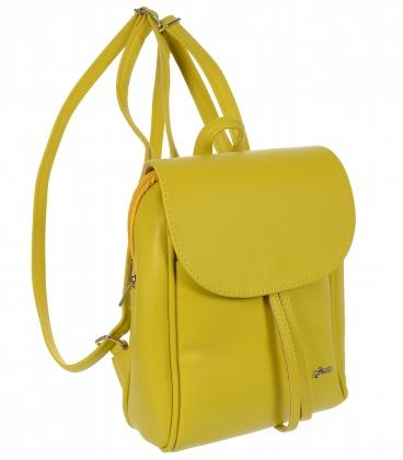 Žltý praktický ruksak 20B001