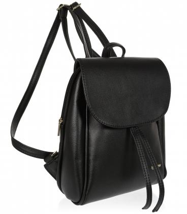 Fekete praktikus hátizsák 20B001