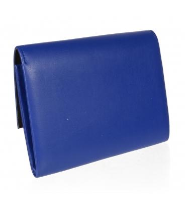 Modrá matná crossbody kabelka SP128 - GROSSO