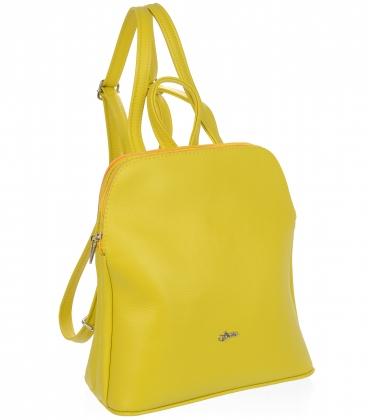Žlutý batoh s oddělenými přihrádkami 20B002