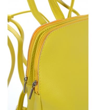 Žltý ruksak s oddelenými priehradkami 20B002