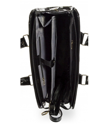 Fekete elegáns notebook táska ST01 - Grosso