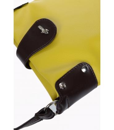 Sárga-barna oldaltáska M188 - Grosso