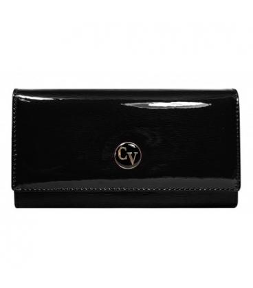 Női fekete festett pénztárca H20-1-SH Black