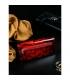 Dámská červená elegantní peněženka s potiskem PN27-LF Red