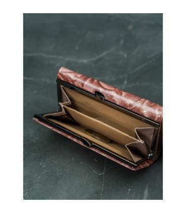 Dámská abstraktní kožená peněženka M-N19-ART-07-Black