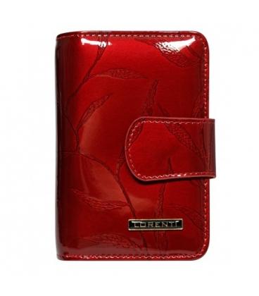 Dámska vzorovaná ružová kožená peňaženka 55020-JXW-RFID Salmon