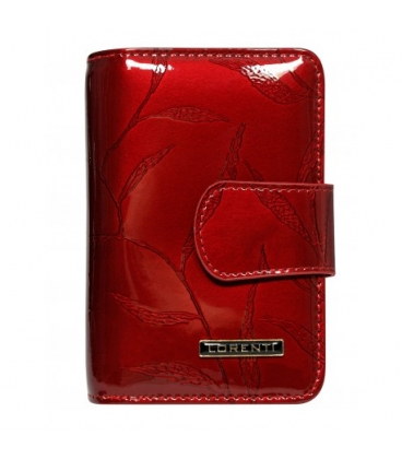 Női mintás rózsaszín bőr pénztárca 55020-JXW-RFID Salmon