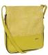 Bielo-zlatá crossbody kabelka 20M011 Grosso