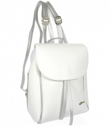 Bielo-zlatý ruksak 20B001WHT