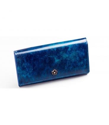 Dámská tmavě modrá lakovaná peněženka PX27-2 JZ blue
