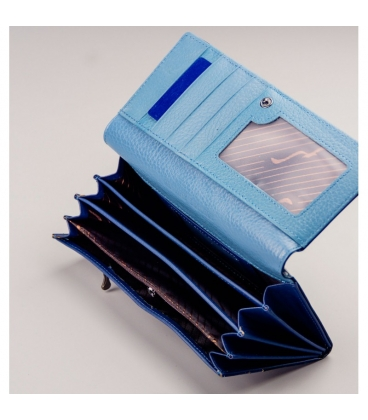 Dámska tmavo modrá lakovaná peňaženka PX27-2 JZ blue