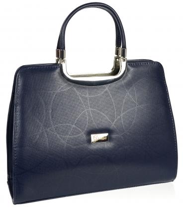 Bordová elegantná matná kabelka 19v0006bordo
