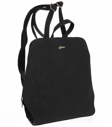 Fekete elegáns hátizsák 20B001