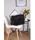 Elegáns fekete laptop táska ST01