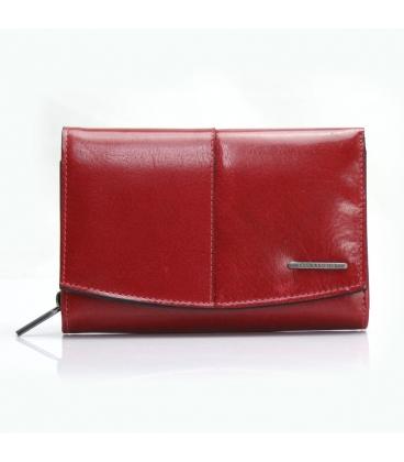 Dámská jednoduchá červeno-černá peněženka BELLUGIO