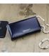 Női fekete színű lakkozott GREGORIO pénztárca