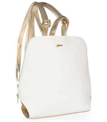 Bílo-zlatý sportovní batoh 20B003