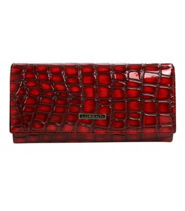 Női piros és fekete nagyobb pénztárca 0178REDLORENTS