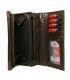 Dámska tmavo-hnedá jednoduchá penženka Lorentidarkbrown