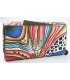 Dámska farebná penženka s abstraktnou kresbou Rovickyart