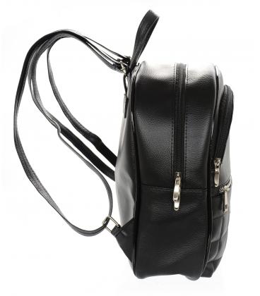 Fekete-ezüst sport hátizsák 21B002