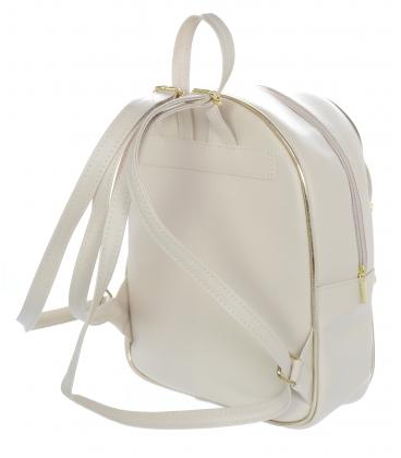 Béžovo-zlatý športový ruksak 21B002