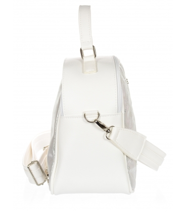 Fehér-ezüst színű táska JCB0003WHITESILVER