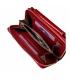 Dámska ružová peňaženka s ornamentmi 8801 pink